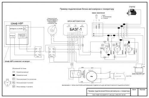 Автозапуск на бензогенератор своими руками 96