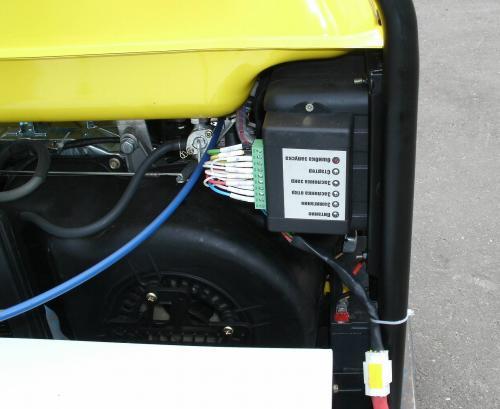 Блок автозапуска генератора схема резервного электроснабжения на базе бензинового генератора 2 блок автозапуска...