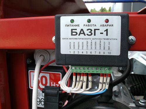 Блок автозапуска генератора своими руками